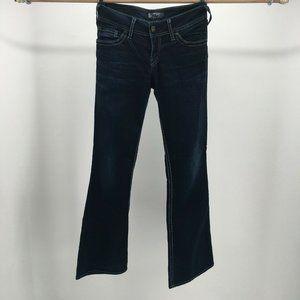Silver Jeans Suki Womens W28/L32 Bootcut Low-Rise